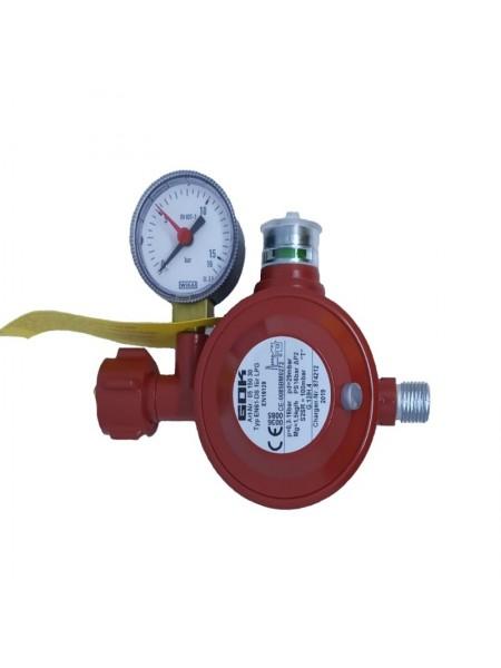 Газовий двухкамерний регулятор низького тиску GOK EN 61-DS 1.5 кг/час 29 (30) мбар
