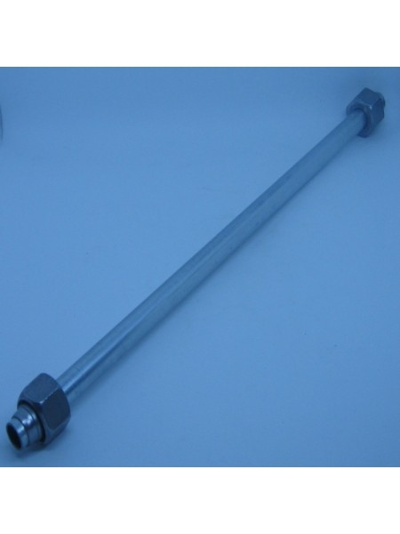 Трубний з'єднувач з обох сторін RST 12*1.5*350 ML+DL