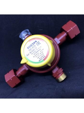 Автоматичний перемикаючий клапан 6 кг/год 2xGFxAG GF (1,2/0,5 бар), GOK-економ