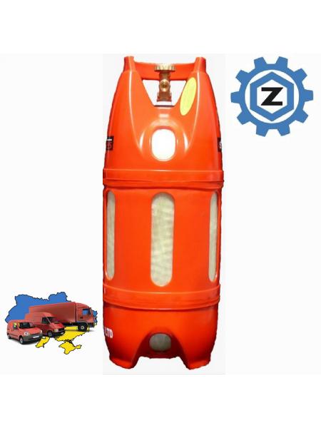 Газовий полімерний балон Lite Safe СНД 12 л