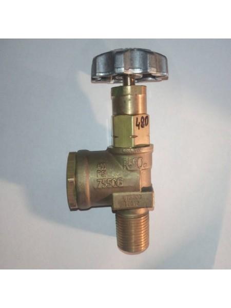 Вентиль відбору рідкої фази для ємності зрідженого газу PS25бар AG 3/4