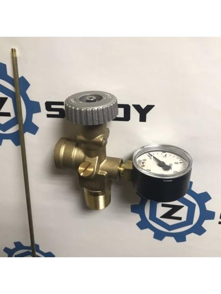 """Вентель відбору парової фази для ємності скрапленного газа AG 3/4""""NPTxIG POL з трубкой PL+1160мм ЗЕД84818079"""