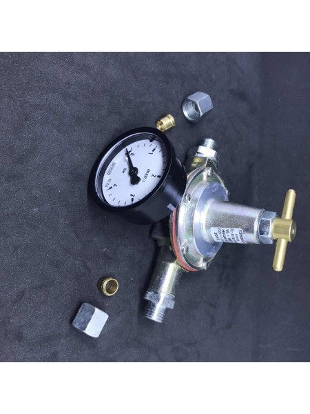 Регулятор тиску палива ODRE-M до 180 л/год 0-2,5бар RVS8 Ман.