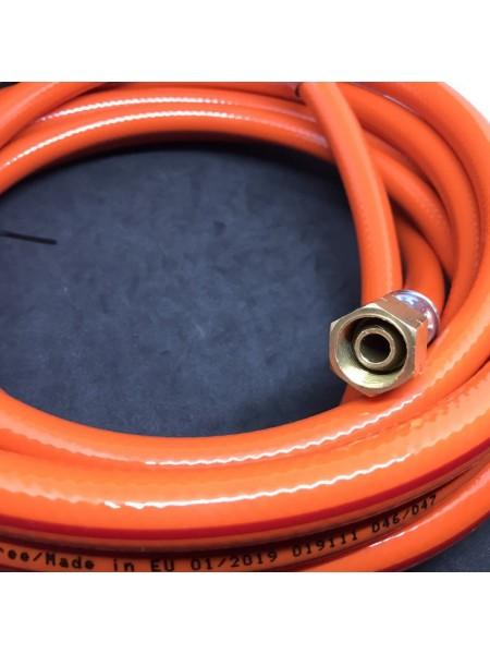 Шланг газовий для під'єднання пальників та пушок 3/8LH - 3/8LH 4м