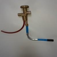 Вентиль газовий балонний для навантажувача Shell W21,8 *1/14 LH (погрущик)