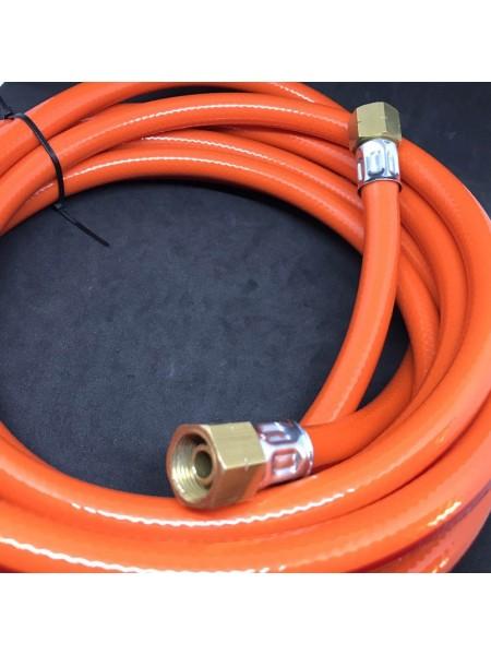 Шланг газовий для під'єднання пальників та пушок 3/8LH - 3/8LH 5м